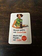 Coca Cola Taschenkalender 1967