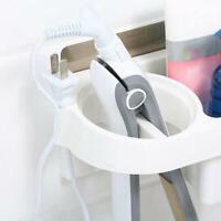 Wall Mounted Hanging Hair Blow Dryer Holder Storage Rack Organizer Bathroom well