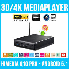 Himedia Q10 Pro 4K Ultra HD Android 5.1 TV Box Quad Core 3D 2G/16G Wifi Media US