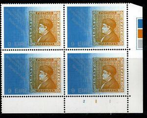 IRELAND 1976  US Bicentenary, 9p Plate Block Of 4, Plate 211 MNH