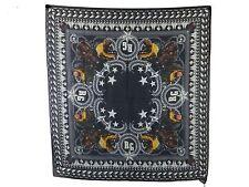 GIVENCHY Luxus Tuch - schwarz weiß  120 x 115 cm  mit Kaschmir  neu m. Etikett