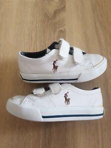 Infant boys Ralph Lauren casual shoes Uk size 6.5