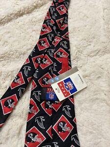 NFL ATLANTA FALCONS TEAM Neck Tie, (Pattern Poly) NEW