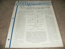 IMPEDANCE CONSIDERATIONS IN CRYSTAL MIXERS THEIR APPLICATION TO UHF TUNER - 1954