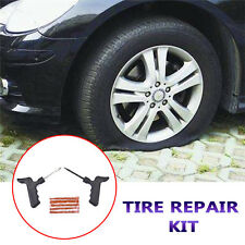 Car Auto Tubeless Tire Tyre Puncture Plug Repair Kit Motorcycle Scooter 5 Strips