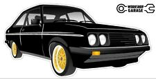 Ford Escort RS2000  MK 2 - 2Door - Black with Gold Rims