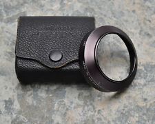 Pentax Asahi Optical Co Takumar 49mm Lens Hood f/3.5 35mm Case (#3690)