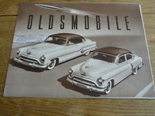 Oldsmobile 1951 folleto de ventas