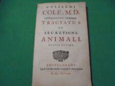 Livres anciens et de collection latins en jusqu 'au xviième siècle sur médecine