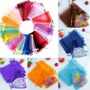 **NEW* ORGANZA BAGS Jewellery, Wedding Favour, Birthday Party, Gift Bag Pouches