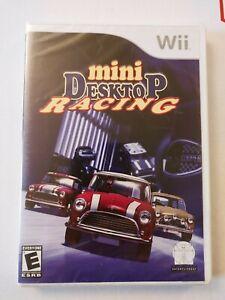 Mini Desktop Racing (Nintendo Wii) Brand New / Factory Sealed Game