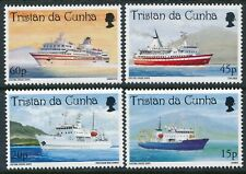 1998 TRISTAN DA CUNHA CRUISE SHIPS SET OF 4 FINE MINT MNH