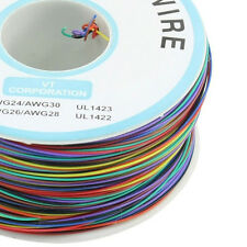 P/N B-30-1000 200M 30AWG 8-Wire Colored Insulation Wrapping Cable SY AU H2A O6L4