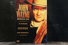 John Wayne - Memorial Box (3 DVDs)