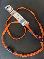 Ezydog zero shock lite leash 6ft 180cm orange innovative shock absorbing