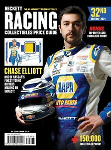 New Beckett 2021 RACING Collectible Price Guide 32nd Edition w/CHASE ELLIOT