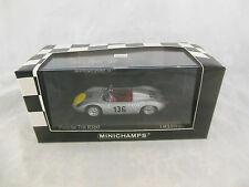 Scarce Minichamps 430 616896 Porsche 718 RS60 Targa Florio 1961 Ltd Edition