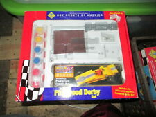 Cub Scout Deluxe Pinewood Derby Set / Car Kit COMPLETE w/ weights **New **
