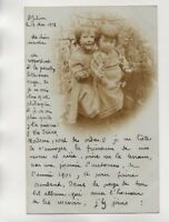 Photographie ancienne - Fillettes   (J2063)