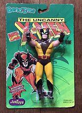 Vintage 1991 X-MEN Wolverine Bend-Ems NIP Action Figure Toy *Sealed/New*