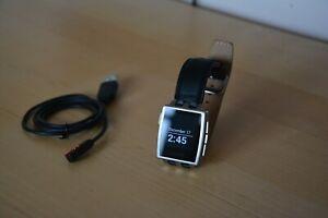 Pebble Steel Smartwatch (401S) [REFURBISHED]