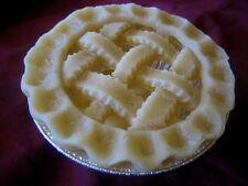 "5"" Wax Pie Crust, Country Lattice w/tin Set of 3 crusts"