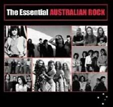 THE ESSENTIAL AUSTRALIAN ROCK 2CD NEW Silverchair Men At Work Ratcat Ammonia