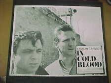 IN COLD BLOOD, orig LCS (Truman Capote, Robert Blake)