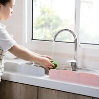 Suction Cup Water Splash Guard Board Wash Sink Washing Baffle Kitchen Prevent