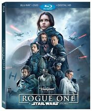 Rogue One: A Star Wars Story w/Slipcover (Blu-ray, DVD, 2017, Digital Copy) NEW
