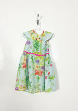 Ted Baker Girls Size 4T Floral Flowy Cap Sleeve Dress Floral Lined Easter Flower
