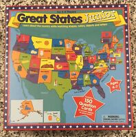 """International Playthings """"Great States Junior"""" Game, 2003, NEW & Sealed"""
