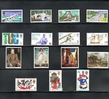 GB 1968 Commemorative's Set SG 763 to 777 MNH (15 Stamps)