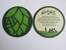 Beer Coaster: BALE BREAKER Brewing Co Leota Mae IPA ~ Yakima, WASHINGTON Brewery