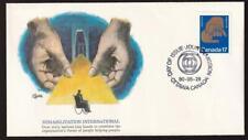 Canada Fleetwood FDC 1980 sc#856 World Rehabilitation Congress-Winnipeg