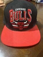 Chicago Bulls NBA Basketball Mitchell & Ness Snap Back Hat Cap