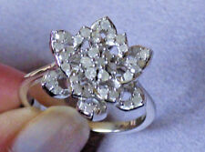 Natural Diamond Cluster Ring  - 1/2ct