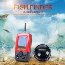 Outlife Smart Portable Fish Finder with Wireless Sonar Sensor Echo Sounder