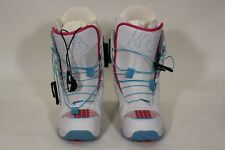 Dc Siloh Womens Snowboard Boots Us 7 or Eu 38 White/Ruby Sb23