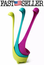 3-PACK Soup Loch Dinosaur Ness Ladle Monster Nessie Spoon Kitchen Supplies *FAST