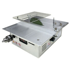 Dual Motor Table Saw Woodworking Desktop Saws Table Cutting Machine with Adapter