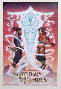 Legend of Korra 2013 NYCC exclusive poster - Korra, Avatar Wan & Raava print