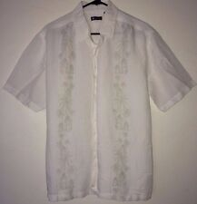Centro Palm Trees Cabana Hawaiian Flowers Summer Beach XL Shirt