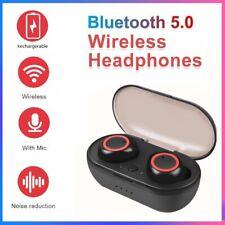 Bluetooth 5.0 TWS Wireless Headphones Earbuds Sport Headset For iPhone Samsung