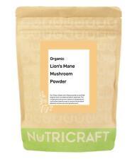 250g organic LION'S MANE MUSHROOM POWDER by NUTRICRAFT™ - immune booster