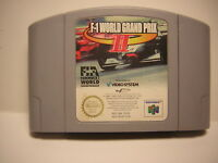 nintendo 64 F-1 WORLD GRAND PRIX 2 F1 jeu COURSE  N64