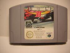 nintendo 64 F-1 WORLD GRAND PRIX 2 F1 jeu COURSE  N64