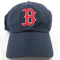 Nike MLB Boston Red Sox Dri-Fit Adjustable Strapback Hat Cap Navy Blue Red