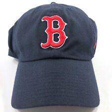 Nike MLB Boston Red Sox Dri-Fit Adjustable Strapback Hat Cap Navy Blue Red