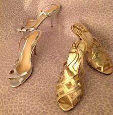Women's Kate Spade 8 1/2 Silver Strapped Heels